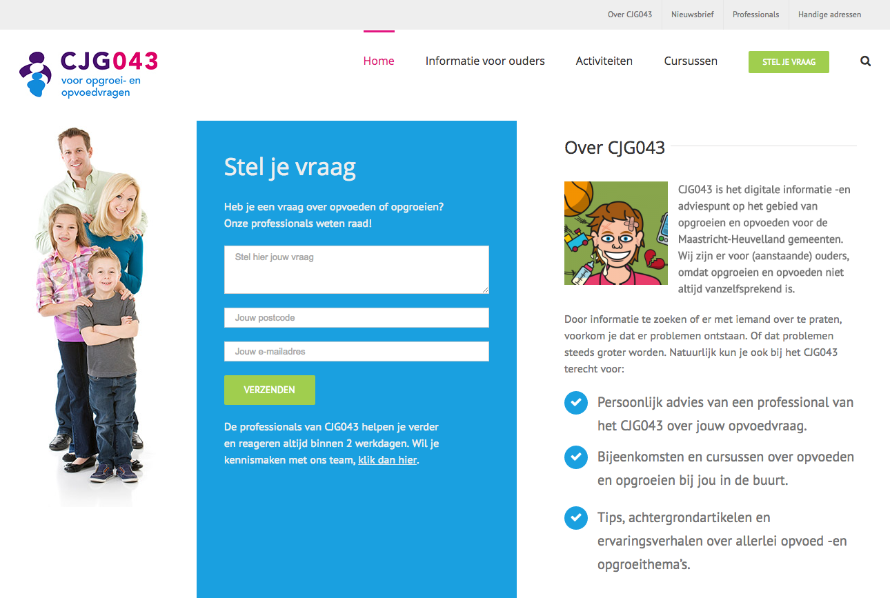 Nieuwe website CJG043